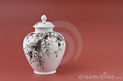 Porcelain of tea pot