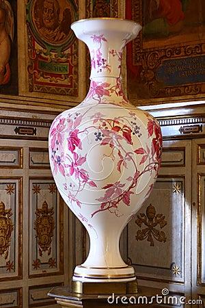 Porcelain vase Editorial Image