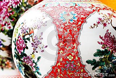 Porcellana cinese antica fotografia stock immagine 4287942 for Oggetti tradizionali cinesi
