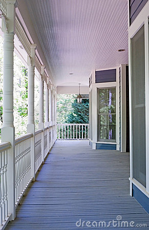 Porch Details/Closeup