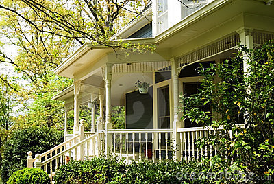 Porch Details/Victorian House