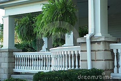 Porch with Railing