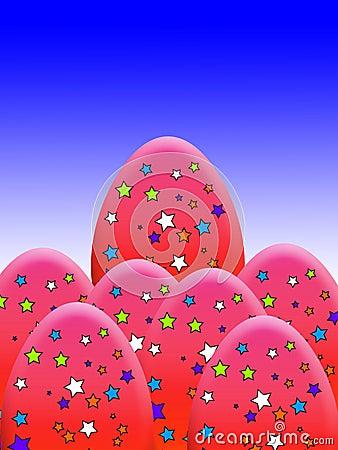 La estrella cubrió los huevos
