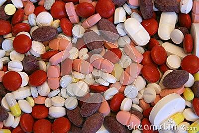 Porciones de píldoras