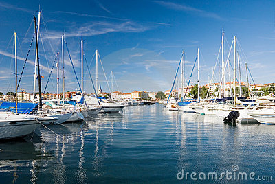 Porec harbor