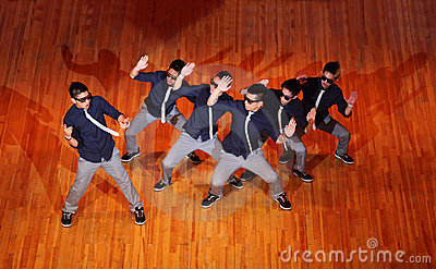Poreotix group dance at Hip Hop International cup Editorial Photography