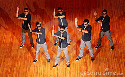 Poreotix group dance at Hip Hop International cup Editorial Image