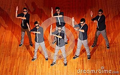 Poreotix group dance at Hip Hop International cup Editorial Image