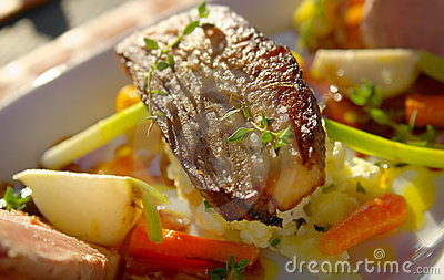 Pork Belly with vegetables