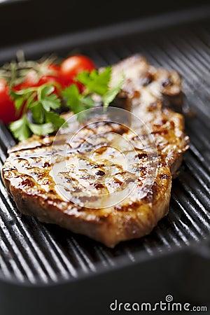 Free Pork Chop Royalty Free Stock Photos - 23268238