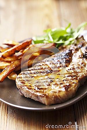 Free Pork Chop Stock Image - 23268281