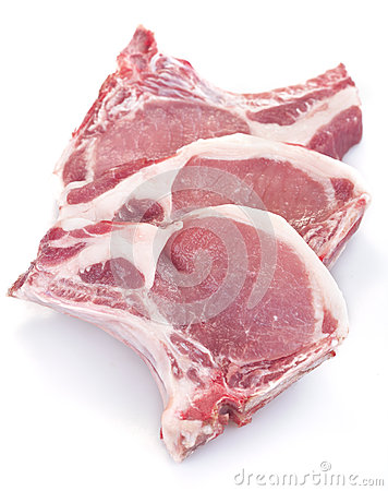 Free Pork Chops Stock Photography - 32386322