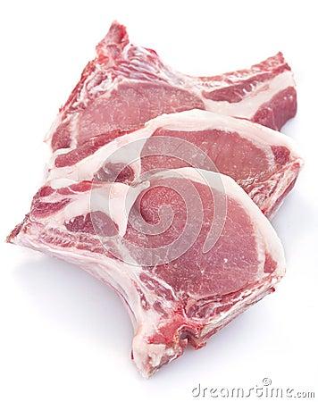 Free Pork Chops Stock Photography - 32386322