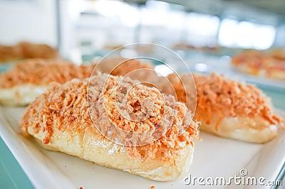 Pork floss bread
