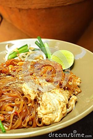 Pork fried rice noodle.