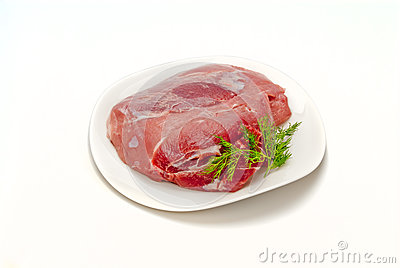 Pork gammon for cooking