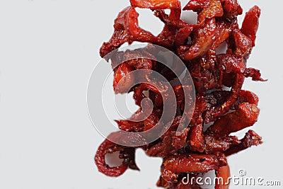 Pork jerky