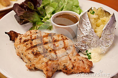 Pork pepper steak
