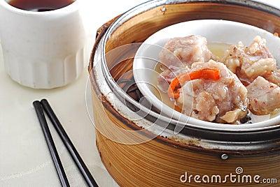 Pork rib dim sum