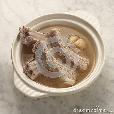 Free Pork Rib Soup Stock Images - 31895904