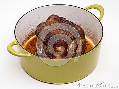 Pork Roast in pot