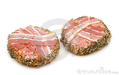 Pork roll stuffed