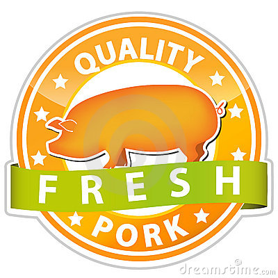 Pork sign