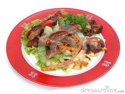 Pork in Tankazu sauce.