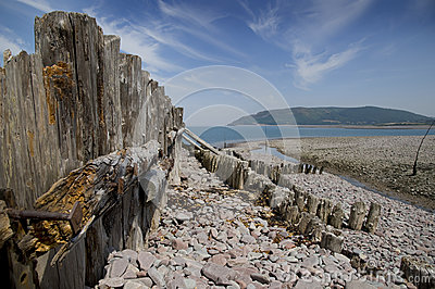 Beauty of Porlock bay, Somerset, England