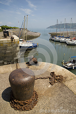 Porlock Weir, Somerset, England Editorial Photography