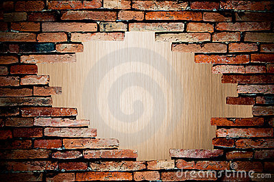 Porous on grunge wall see metal background