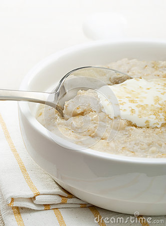 Porridge Royalty Free Stock Photo - Image: 25329145