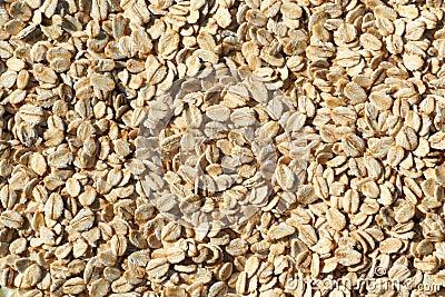 Porridge oats texture background.