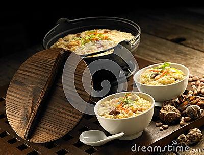 Porridge preparation