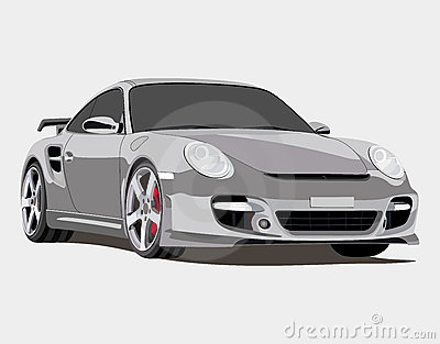Porsche Editorial Stock Photo