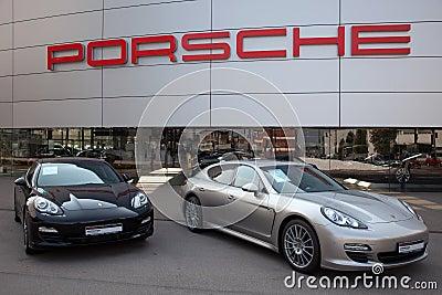 Porsche Editorial Stock Photo