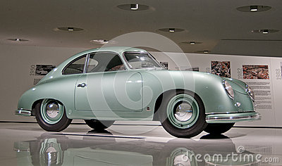 Porsche 356 - 1952 Editorial Stock Photo