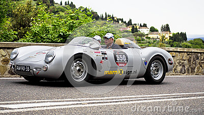 PORSCHE 550 - 1500 RS (1955) Editorial Image