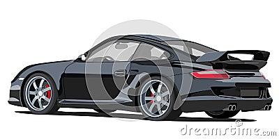 Porsche 911 Editorial Photo