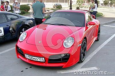 Porsche 911 Editorial Image