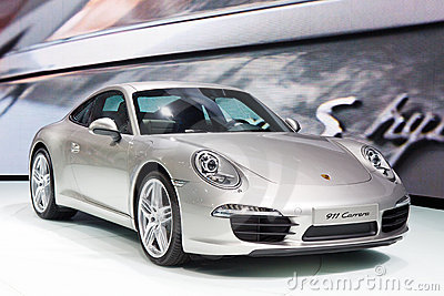 Porsche 911 Carrera Editorial Stock Image