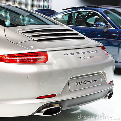 Porsche 911 Carrera Editorial Stock Photo