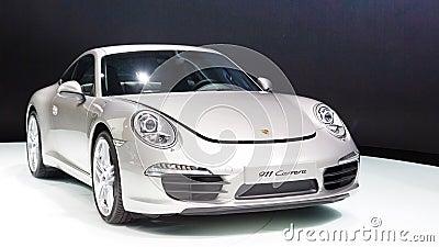 Porsche 911 Carrera Editorial Photography