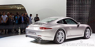 Porsche 911 Carrera Editorial Photography