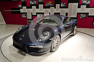 Porsche 911 carrera Editorial Stock Image