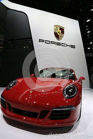 Free Porsche 911 Displayed At The Show Royalty Free Stock Photography - 50399037