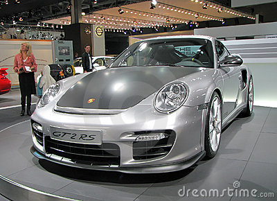 Porsche 911 GT2 RS Editorial Stock Image