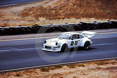 Porsche 911 Racecar Editorial Stock Photo