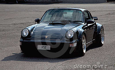Porsche 911 RS Editorial Stock Photo