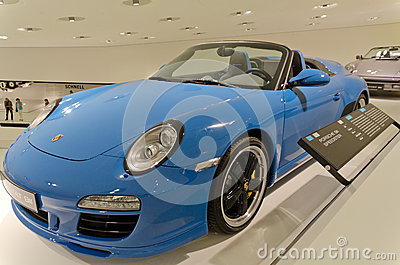 Porsche 911 speedster Editorial Photography